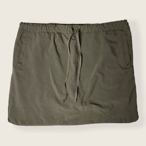 Rider's by Lee Military Green Skort Size 18W